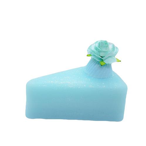Sea Salt Soap Cake Slice