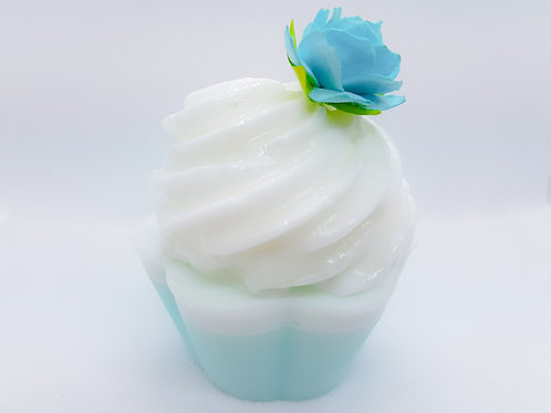 Ocean Breeze Soap Cupcake