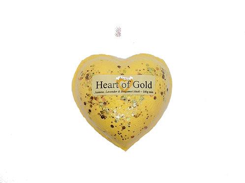 Heart of Gold Bath Fizzer