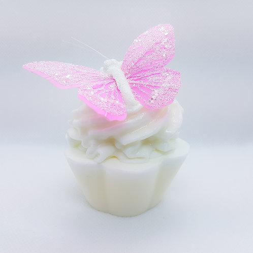 Strawberry Prosecco Soap Cupcake