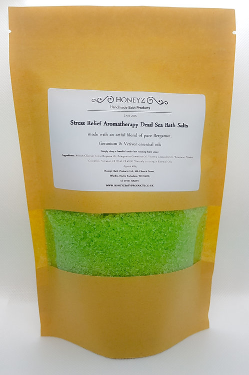Stress Relief Dead Sea Bath Salts