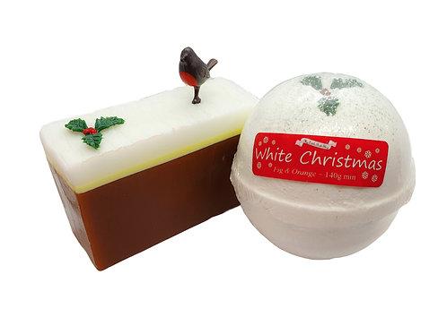 Christmas Cake Slice Gift Box