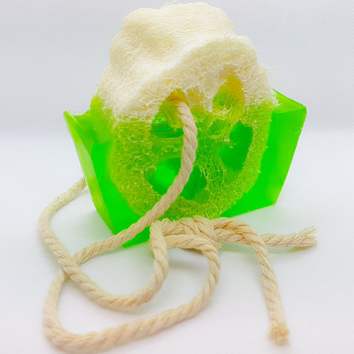 Lime Loofah Soap