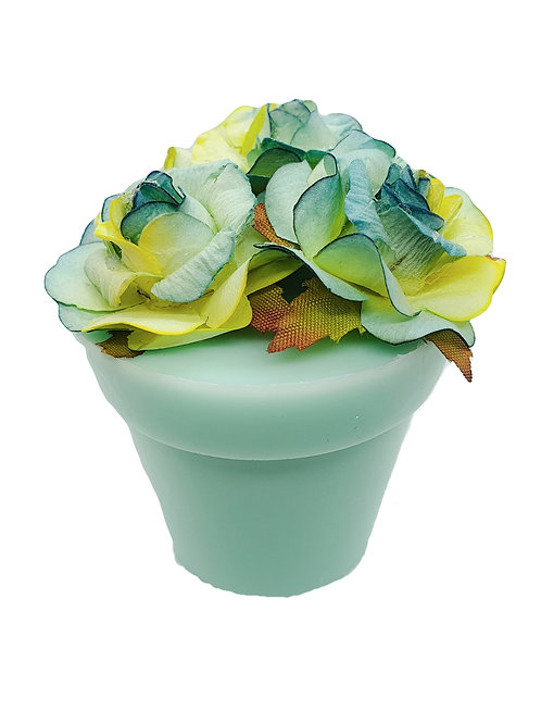 Blue Plant Pot Soap