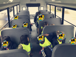 School age students Pro D day field trip