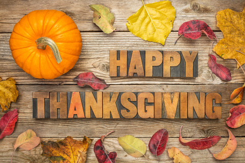 Happy Thanksgiving For All The Parents In Lucky Clover Childcare Learning Center!