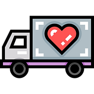 Delivery truck with heart.png