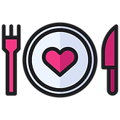Plate with heart.png