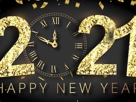 Neujahr 2020/21 - ein turbulentes Jahr geht zu Ende