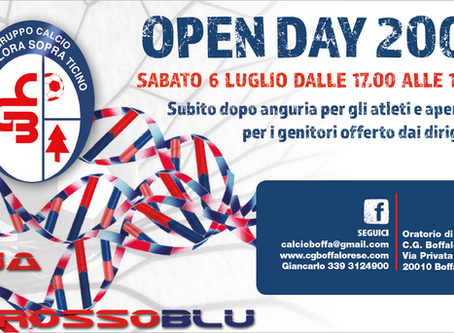 OPEN DAY 2007 - SAVE THE DATE!
