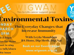 Join us to look at Environmental Toxins