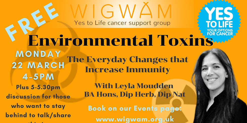 Environmental Toxins – the everyday changes that increase immunity
