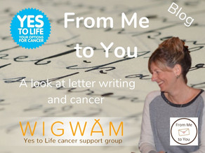 From Me to You; letter writing and cancer