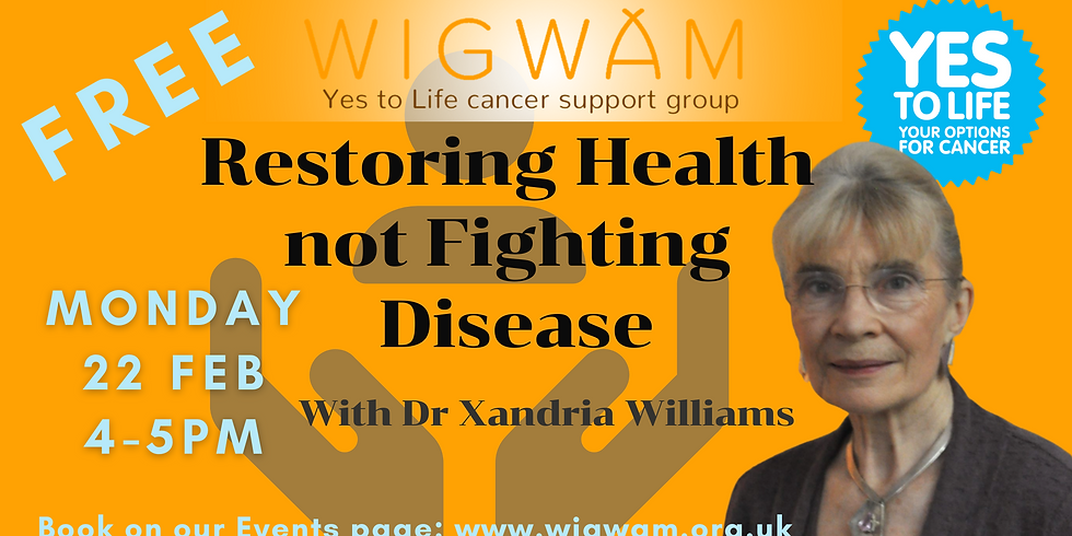 Restoring Health not Fighting Disease