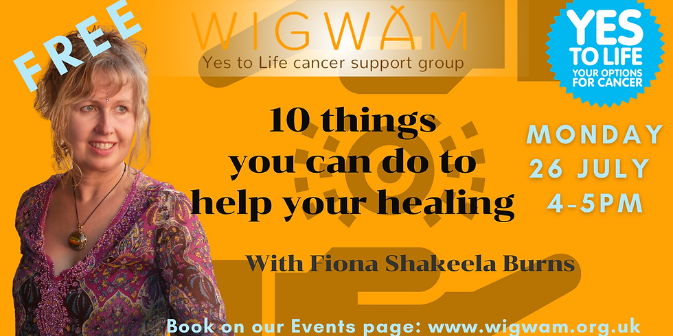 10 things you can do to help your healing