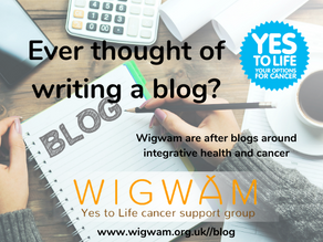 Ever thought of writing a blog?