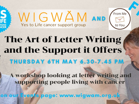 Free workshop on letter writing