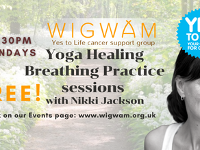 More Yoga Healing Breathing sessions with Nikki Jackson
