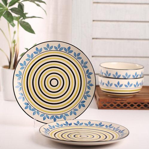 Atai dinner plate. Set of 2