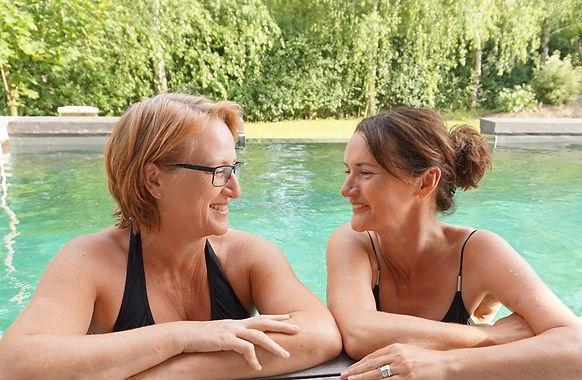 Ausgebildete Therapeutinnen: Sabine Schumann und Katja Lüerßen