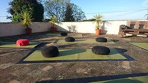 SANUKA: Dachterrasse der Lazy Finca
