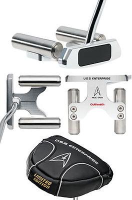 Jeff Sheets Golf,Club Design,Club Development,Golfsmith,USS Enterprise,putter,NC-1701