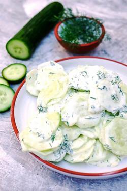 2 salade de concombre