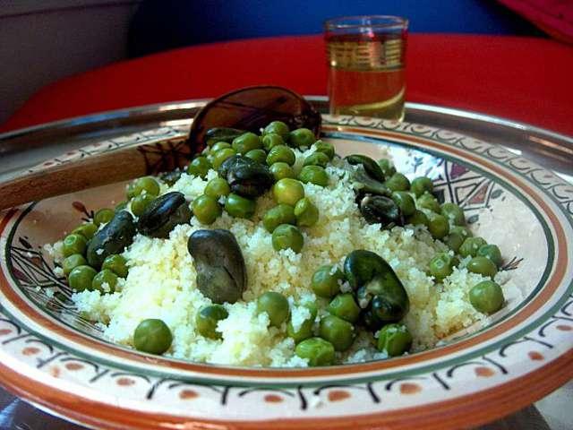 couscous Vert / mesfouf
