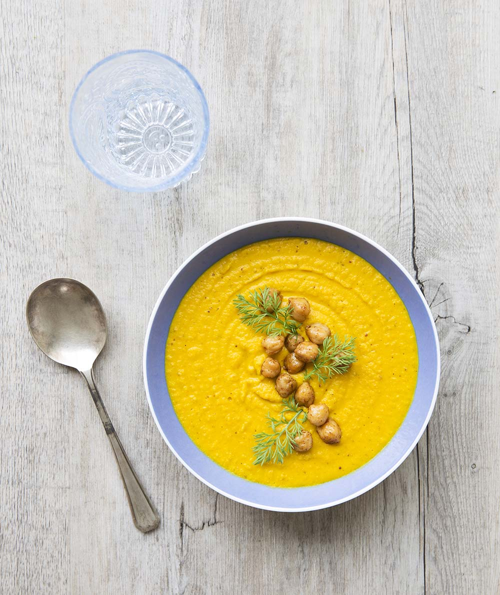 soupe carotte - potiron