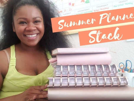 What's in my Summer Planner line up for 2020 and and how I use Multiple planners to help me tr