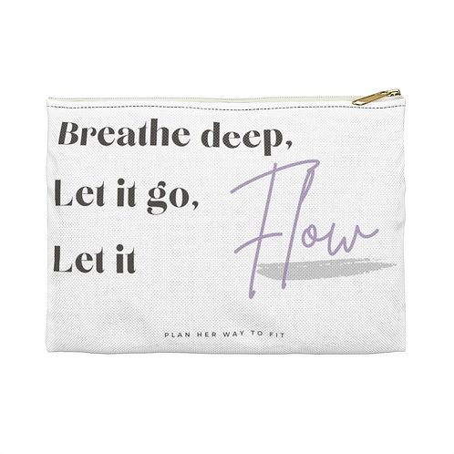 Let it Flow Pouch White
