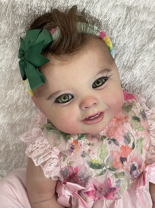 Realistic Green eyes vampire BIG chunky baby
