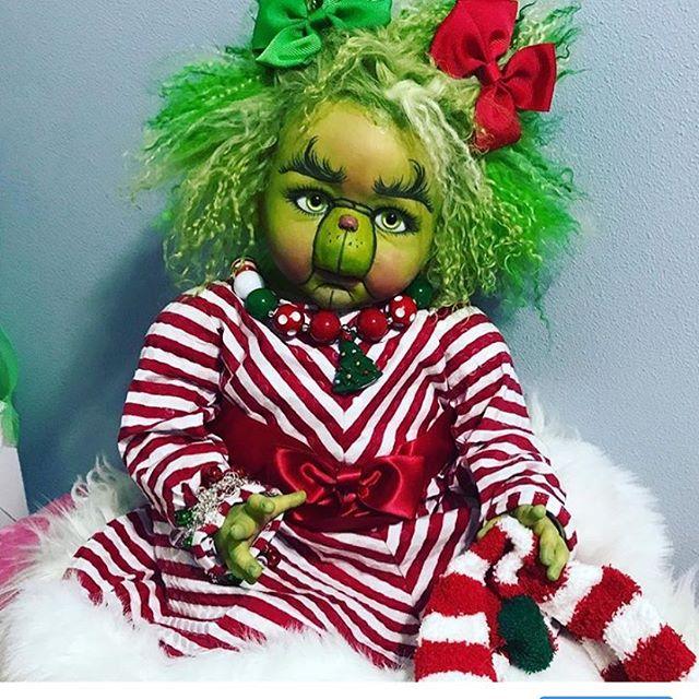 #Christmas #grinch #thetwistedbeanstalkn