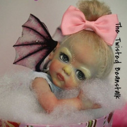 This was a pixie baby art piece by #bean