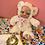 Thumbnail: Beanstalk Budd White with pink paw prints