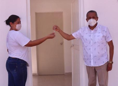 ¡Listo! Queda culminada ampliación del Centro de Salud de la comunidad de Los Pozos, Rosario