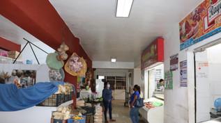 Se instalarán lámparas led en el mercado municipal Miguel Hidalgo en Escuinapa