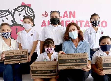 DIF Sinaloa y SEPyC unen esfuerzos; distribuirán más de 80 mil despensas a estudiantes