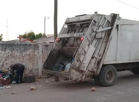 Servicio de recolección de basura es bueno y se ha ampliado, pero los camiones son los obsoletos
