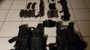 BOMU asegura armas y dos unidades con reporte de robo tras enfrentamiento