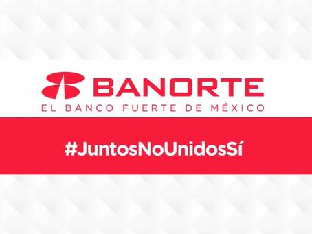 Banorte ofrece posponer pago de créditos a sus clientes hasta por cuatro meses