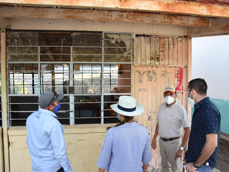 "Rehabilitaran totalmente la escuela primaria ""Guillermo Prieto"" en Loma Verde, Rosario"