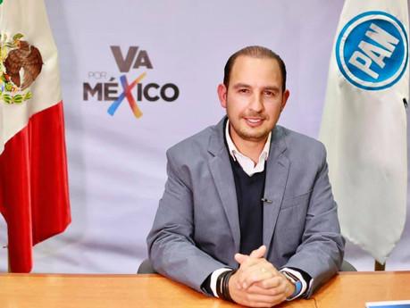 """¡Es un hecho! Se formaliza alianza PRI-PAN-PRD, se llama """"Va por México"""""""