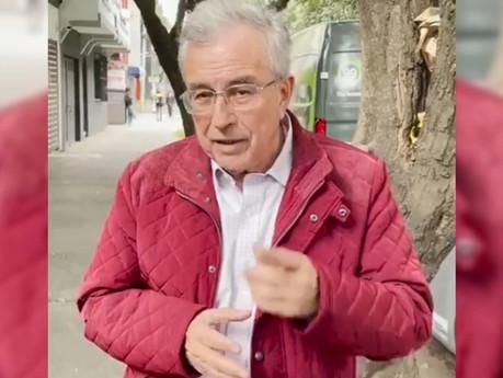 ¡Son Rumores! Dice Rocha Moya que sigue en lucha por la candidatura a la gubernatura de Sinaloa