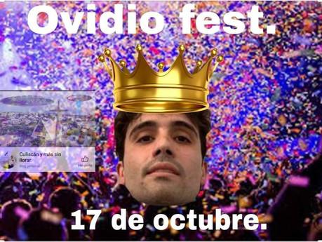 """Invitan en redes sociales al """"Ovidio Fest"""" para celebrar un año del llamado """"jueves negro"""""""