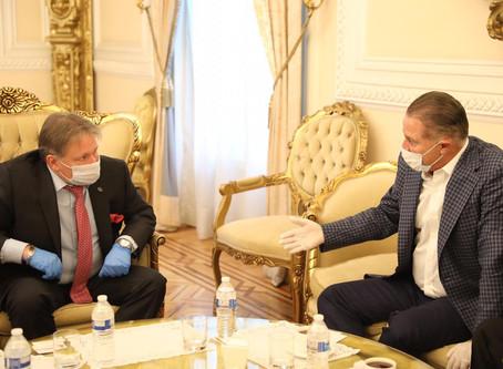 Se reúne Quirino Ordaz con embajador de Rusia para asegurar adquisición de vacuna COVID