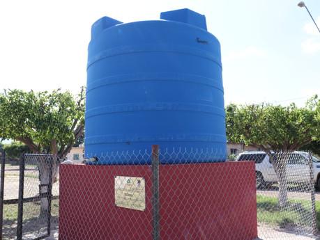 Citrofrut y Comuna instalan cisternas de 10 mil litros en La Campana y Copales