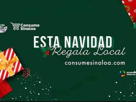 """Ponen en marcha campaña """"Navidad Consume Sinaloa"""" en apoyo al comercio local"""