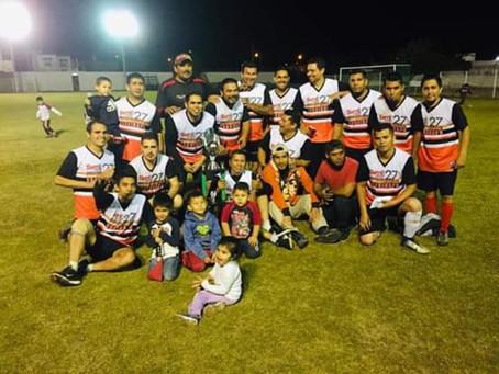 SNTE 27 - Profes es campeón de la liga de trabajadores de fútbol soccer