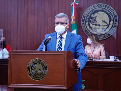 Exhorta Edgar González a no dejar ir los recursos para la obra de la presa Santa María